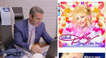 Which Dolly Parton Song is Andy Cohen?