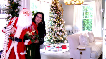 Kyle Richards Shows Us Her Over-the-Top Holiday Decorations