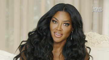 "Kenya Moore Says Nene Leakes Is ""Threatened and Bothered"""