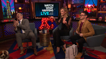 Andy Cohen Drops Karlie Kloss's Homemade Cake!
