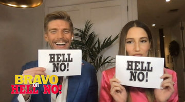 Amanda Batula & Kyle Cooke Play Bravo or Hell No!