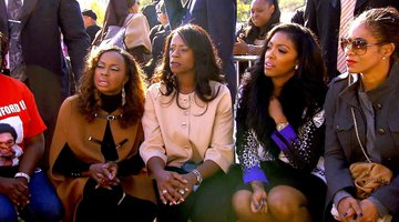 The 'Wives Get Emotional at the Million Man March