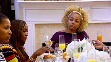 A #RHOA Brunch with No Makeup?