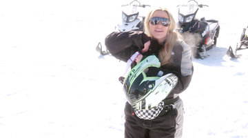 "Heather Gay Says Snowmobiling Is Like Sex: ""Much More Fulfilling If You Do It Alone"""