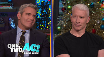 Andy Cohen & Anderson Cooper are Eskimo Brothers