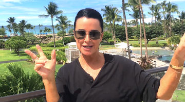Kyle Richards on Being Camille Grammer's Bridesmaid