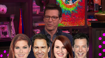 Sean Hayes Dishes on His 'Will & Grace' Co-Stars