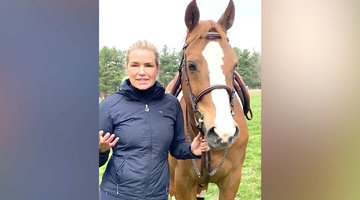 Yolanda Hadid Breaks Down Self-Isolating with Her Family on Her Farm Amid COVID-19