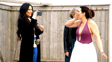 Brandi Redmond Catches LeeAnne Locken Filming Her Topless Swim