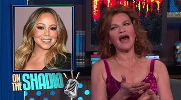 Sandra Bernhard & Mariah Carey are on Good Terms
