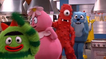 It's Yo Gabba Gabba!