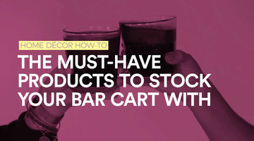 Everything You Need to Stock a Bar Cart