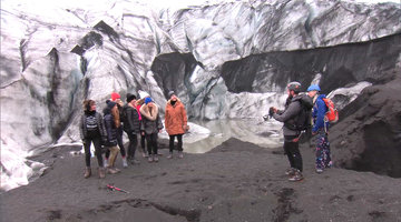 The OC 'Wives Hike Glaciers in Iceland