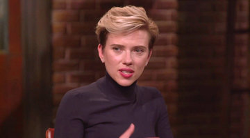 Scarlett Johansson Wants to Do a Musical
