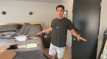 Your Very First Look Inside Reza's Stunning New Home