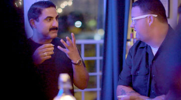 Reza Farahan and Graham Elliot Crash an Apartment Speakeasy