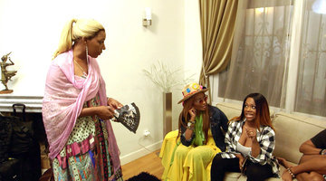 NeNe Leakes and Kandi Burruss Clash...