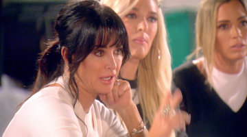 Kyle Richards Breaks Down in Tears When Her Loyalty Is Questioned