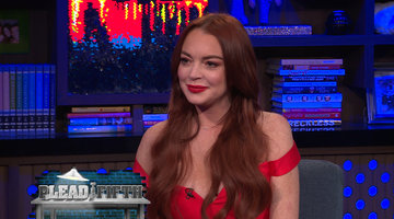 Lindsay Lohan Says She & Kim Kardashian are Good