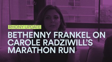 Bethenny Frankel Supports Carole Radziwill Running the NYC Marathon