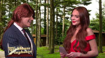 "Lindsay Lohan & Andy Cohen's ""Parent Trap' Reenactment"