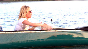 Ramona and Kristen's Canoe Face-Off