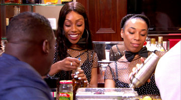 The Married to Medicine Guys Get Caught with Female Bartenders
