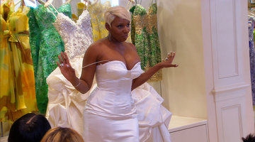 A Custom Dress for NeNe Leakes