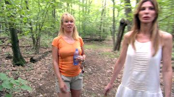 Ramona Singer Loses It in the Woods