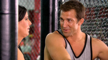 Patti Goes Toe to Toe with a UFC Fighter!
