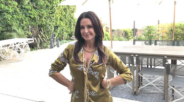 Get a Peek at Kyle Richards' Super Fancy PJs
