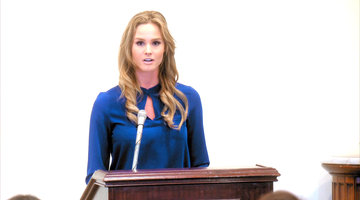 Meghan King Edmonds Goes to Washington