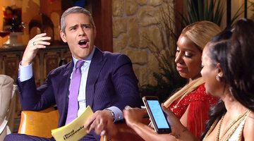 Kandi Burruss Writes a D Challenge for Andy Cohen