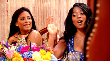 Toya Goes for Lisa Nicole's Jugular