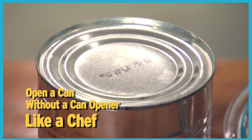 Open a Can without a Can Opener