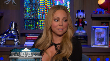 Mariah Carey Plays Plead the Fifth Again!