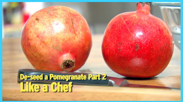 De-Seed Pomegranate, Part 2