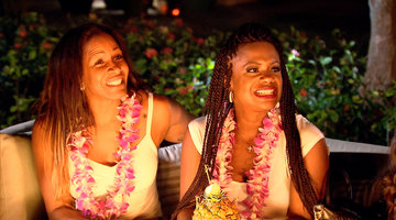 Things Get Fiery in Hawaii for the 'Wives