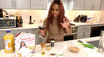 "Quad Webb Shows How to Cook the Perfect ""Quarantine Cuisine"""