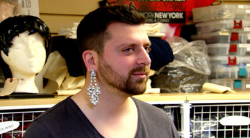 Chris Manzo Dresses in Drag