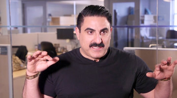 Reza Farahan Dishes on His Swanky Palm Springs Pad