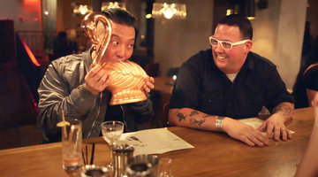 Graham Elliot and Chris Oh Drink Ella Fitzgerald and Desi Arnaz