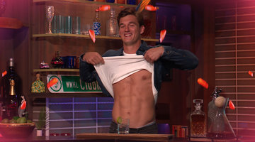 Tyler Cameron Flashes His Abs for Jenny McCarthy & Gina Kirschenheiter