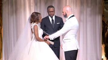 Candiace Dillard and Chris Bassett Exchange Wedding Vows