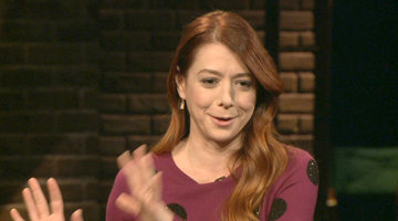 Alyson Hannigan Talks Willow on 'Buffy'