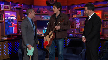 John Mayer Surprises Andy Cohen in the LA Clubhouse!
