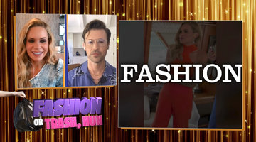 Brad Goreski & Jackie Goldschneider Rate RHONJ Fashion