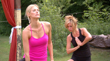 The RHONY Tries Yoga, Hungover