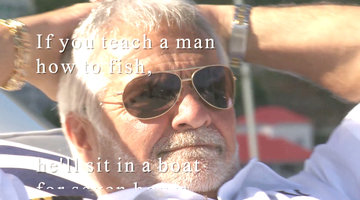 Deep Thoughts with Captain Lee: Fishing