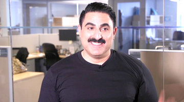 Which Celebrity Has the Best Mustache? Reza Farahan Weighs In